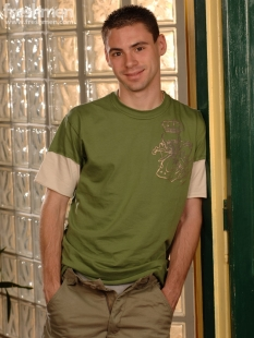 Michael Amerika, Freshmen, Aug. 2007. Photo credit Mick Hicks.