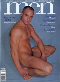 Douglas Michael, MEN Magazine May 2001. Photo credit Mercury Studios.