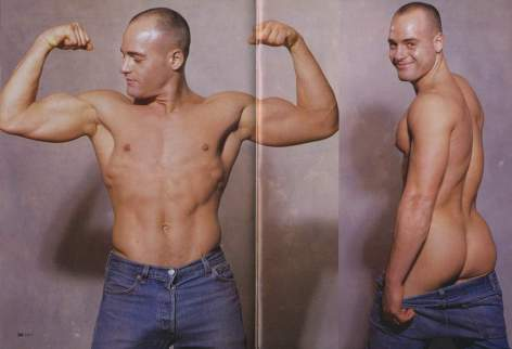 Douglas Michael, MEN Magazine May 2001. Photo credit Mercury Studios.