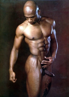 Preston Scott, MEN Magazine, May 2001. Photo credit Body Image Productions.